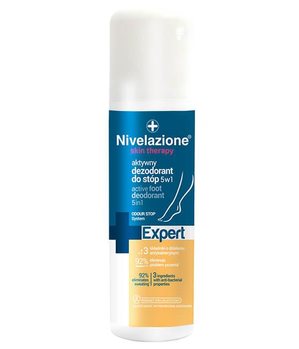 Aktywny dezodorant do stóp 5 w 1
