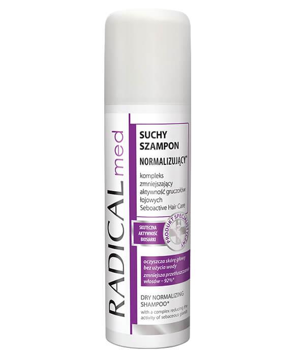 Suchy szampon normalizujący RADICAL med