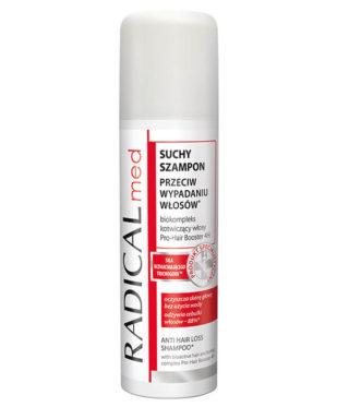 Suchy szampon przeciw wypadaniu włosów RADICAL med