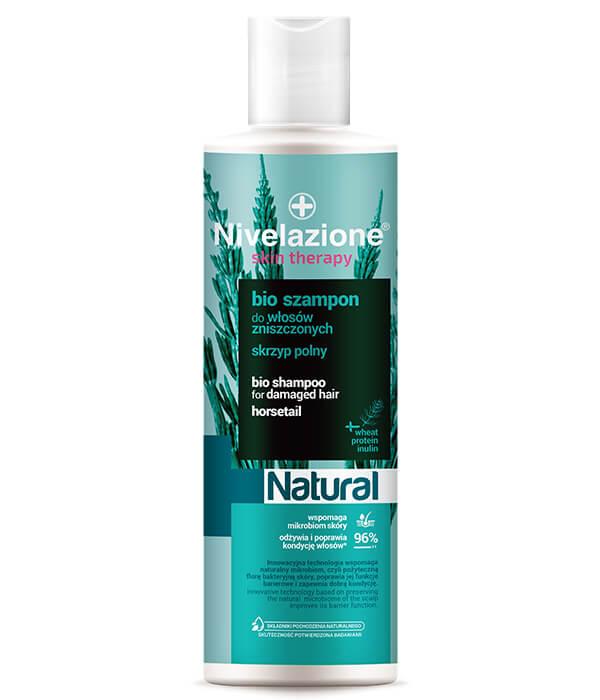 Bio szampon do włosów zniszczonych