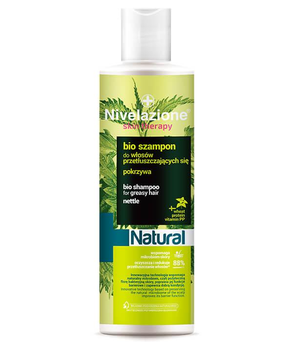 Bio szampon do włosów przetłuszczających się