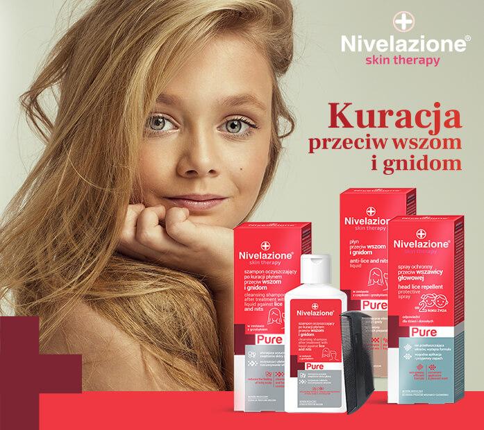 NIVELAZIONE Skin Therapy PURE wszy i gnidy