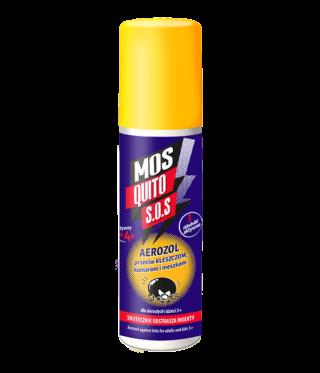 Aerozol przeciw kleszczom, komarom i meszkom